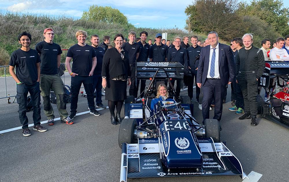 Studentprojektet Chalmers Formula Student 2019.